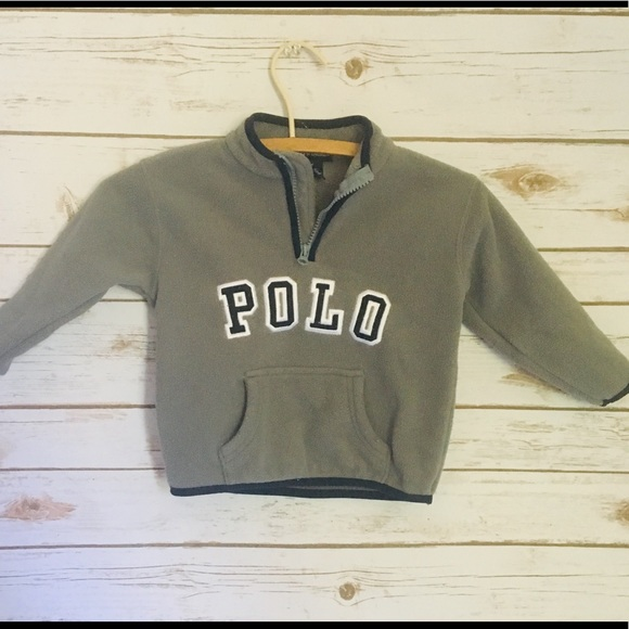 Polo by Ralph Lauren Other - Kids POLO fleece pull over